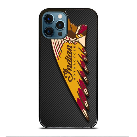 INDIAN MOTOR CYCLE CARBON LOGO iPhone Case Cover