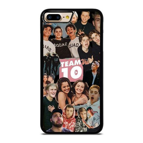 JAKE PAUL TEAM 10 COLLAGE-iphone-7-plus-case-cover