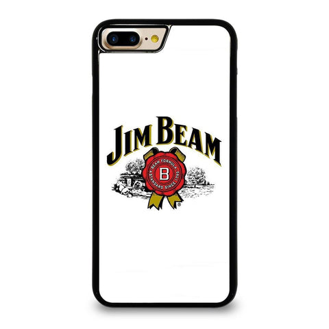 JIM BEAM WHISKEY LOGO WHITE iPhone 7 Plus Case Cover