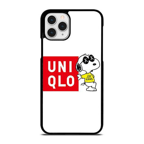 JOE KAWS UNIQLO LOGO iPhone 11 Pro Case Cover
