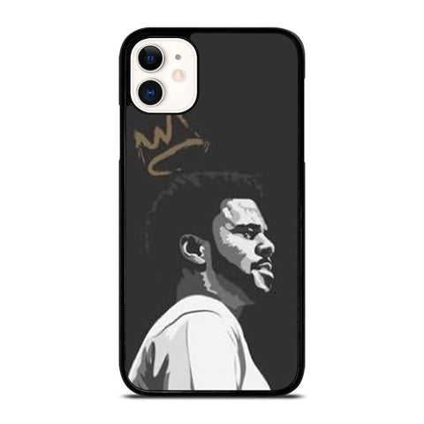 J COLE CLIPART-iphone-11-case-cover