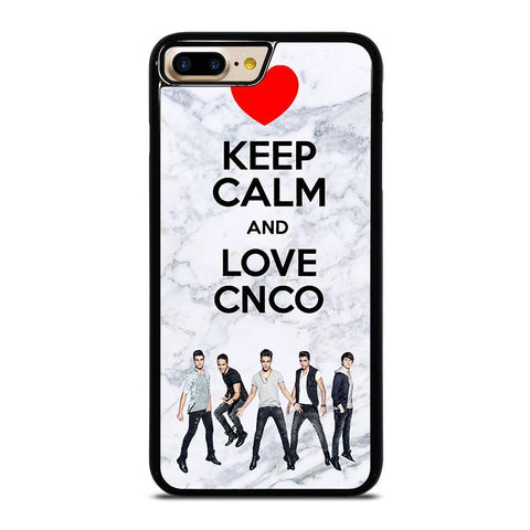 KEEP CALM AND LOVE CNCO MARBLE-iphone-7-plus-case-cover
