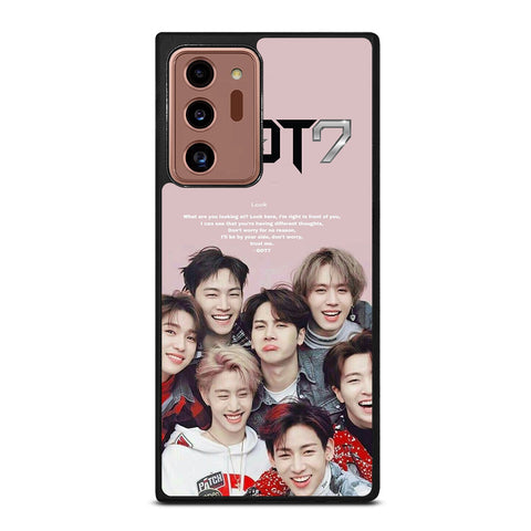 KPOP GOT7 QUOTE Samsung Galaxy Note 20 Ultra Case Cover