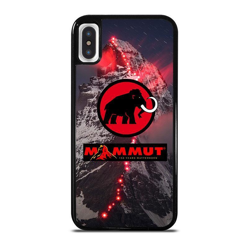 MAMMUT LOGO iPhone X / XS Case Cover - Favocase