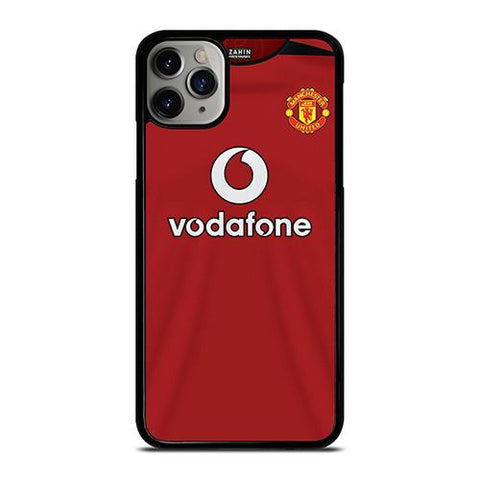 MANCHESTER UNITED FC CLASSIC JERSEY VODAFONE iPhone 11 Pro Max Case Cover