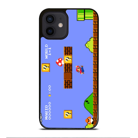 MARIO BROSS RETRO NES iPhone 12 Mini Case Cover