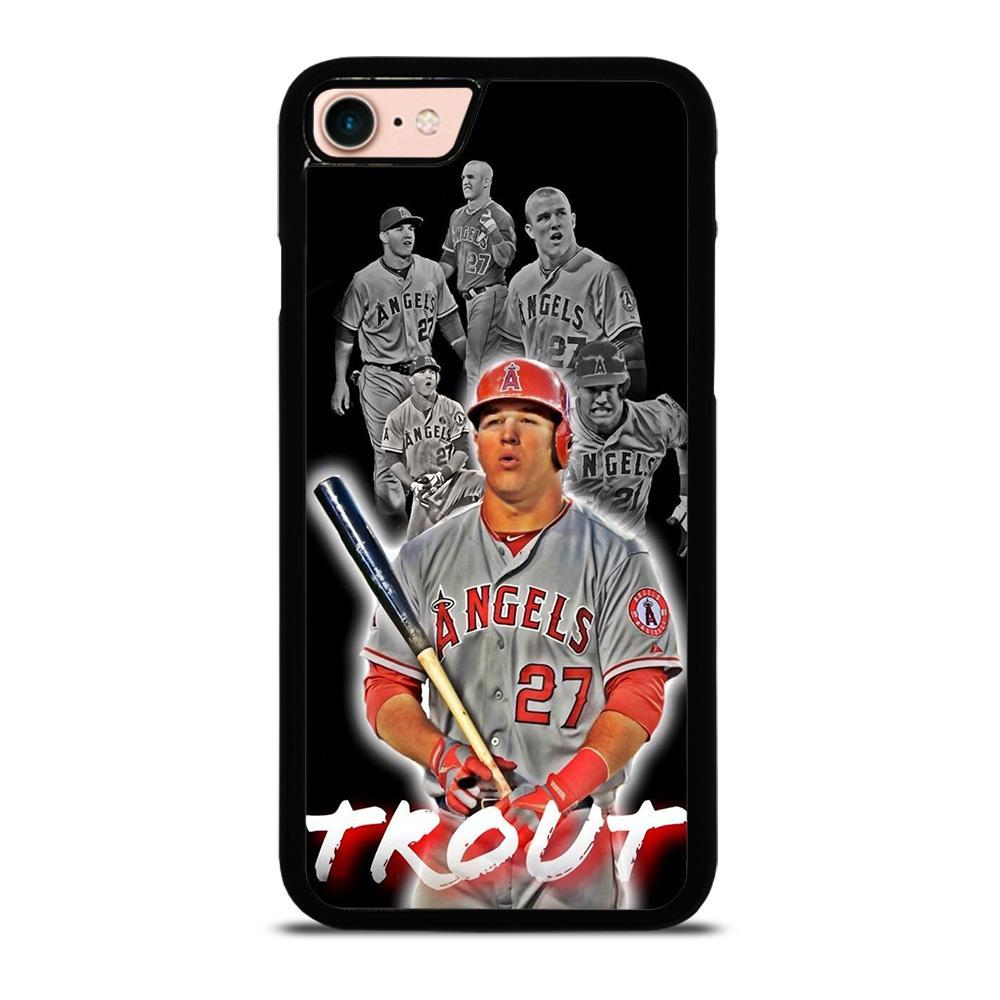 MIKE TROUT BASEBALLMIKE TROUT BASEBALL iPhone 8 Case Cover - Favocase