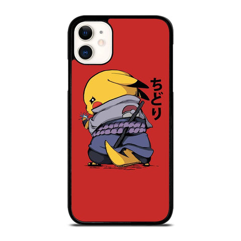 NARUTO PIKACHU SASUKE-iphone-11-case-cover