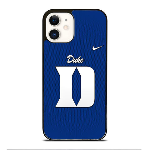 NIKE DUKE BLUE DEVILS iPhone 12 Case Cover