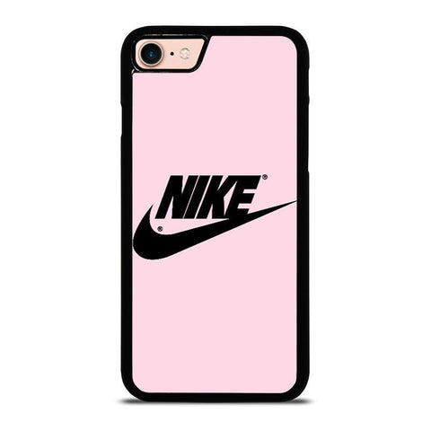 NIKE PINK LOGO-iphone-8-case-cover