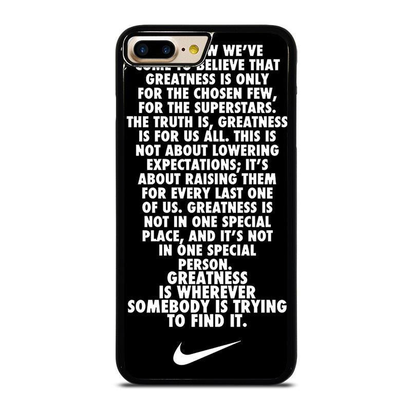 NIKE QUOTE iPhone 7 Plus Case Cover - Favocase