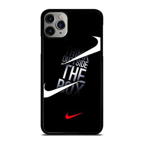 NIKE THINK OUTSIDE THE BOX iPhone 11 Pro Max Case Cover