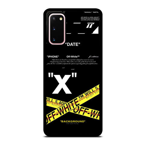 OFF WHITE 2 Samsung Galaxy S20 Case Cover