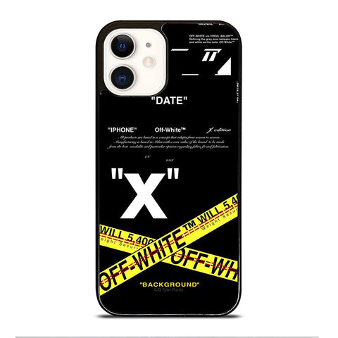 OFF WHITE 2 iPhone 12 Case Cover
