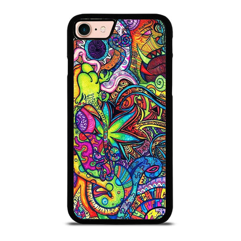 PASTEL ABSTRACT PSYCHEDELIC iPhone 8 Case Cover