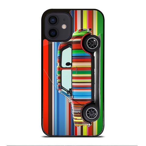 PAUL SMITH MINI COOPER STRIPE iPhone 12 Mini Case Cover