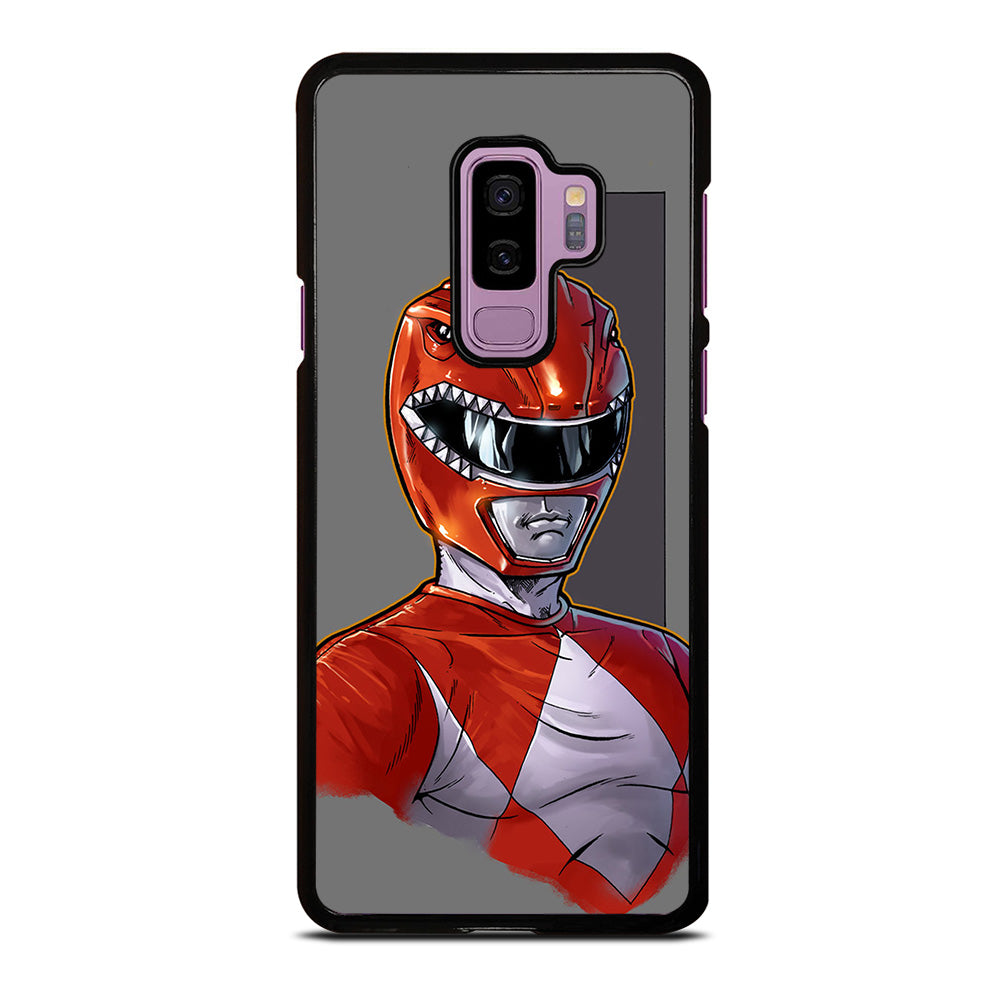 POWER RANGERS RED Samsung Galaxy S9 Plus Case Cover - Favocase