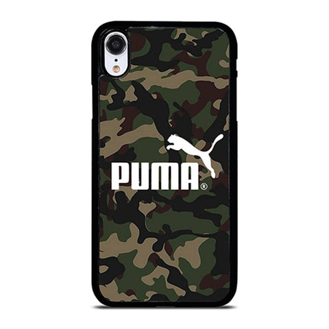 PUMA LOGO CAMO iPhone XR Case Cover