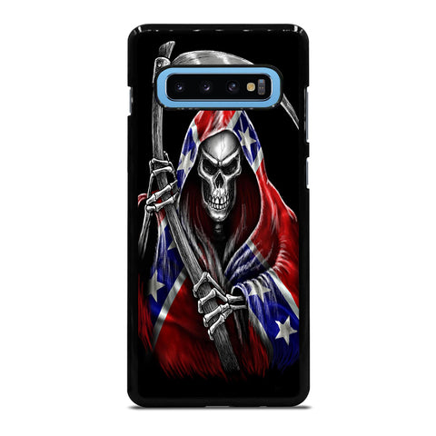 REBEL FLAG SKULL Samsung Galaxy S10 Plus Case Cover