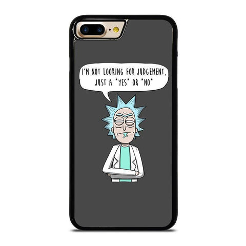 RICK AND MORTY QUOTE-iphone-7-plus-case-cover