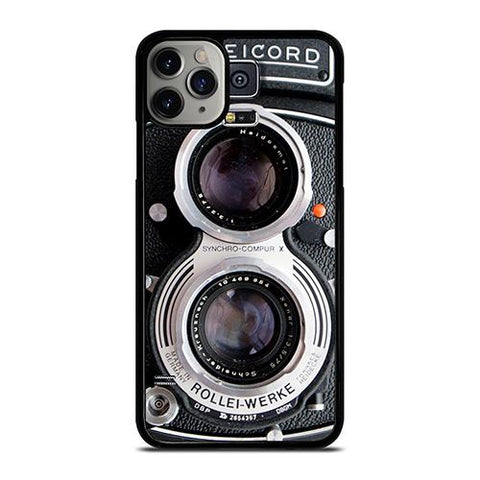 ROLLEIFLEX VINTAGE RECORDER iPhone 11 Pro Max Case Cover