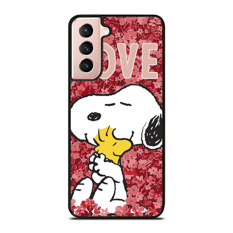SNOOPY THE PEANUTS LOVE Samsung Galaxy S21 Case Cover
