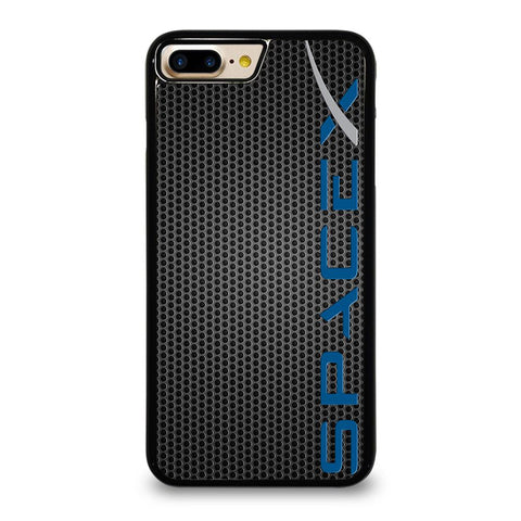SPACE X LOGO METAL iPhone 7 Plus Case Cover