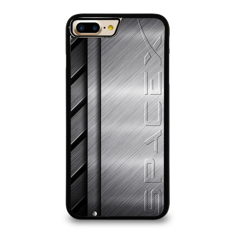 SPACE X LOGO METAL PLATE iPhone 7 Plus Case Cover