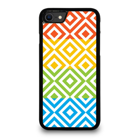 SQUARE PATTERN iPhone SE 2020 Case Cover