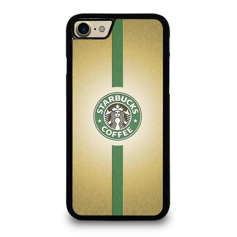 STARBUCKS COFFEE GREEN STRIPE iPhone 7 Case Cover - Favocase