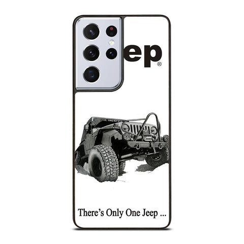 THERE'S ONLY ONE JEEP Samsung Galaxy S21 Ultra Case Cover