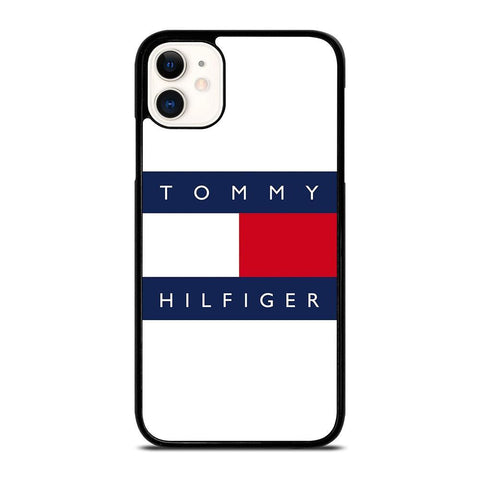 TOMMY HILFIGER LOGO-iphone-11-case-cover