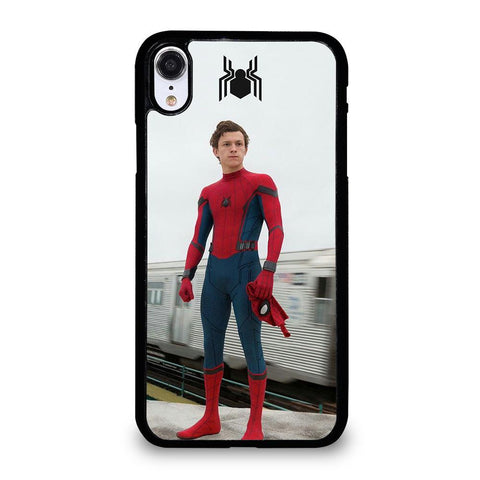 TOM HOLLAND SPIDERMAN-iphone-xr-case-cover