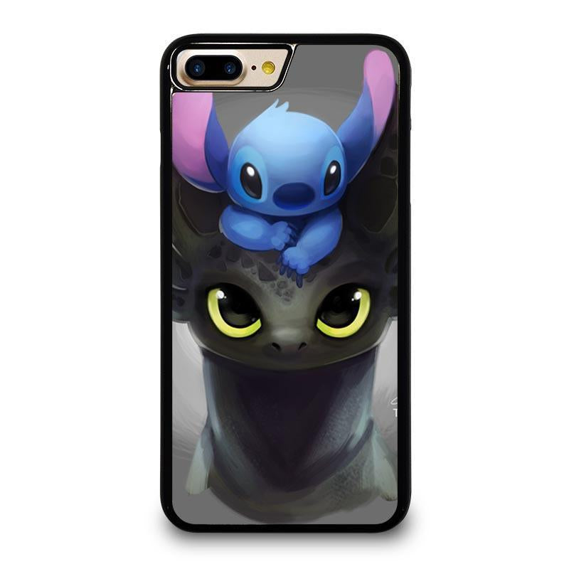 TOOTHLESS AND STITCH iPhone 7 Plus Case Cover - Favocase