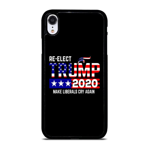 TRUMP 2020 RE ELECT iPhone XR Case Cover
