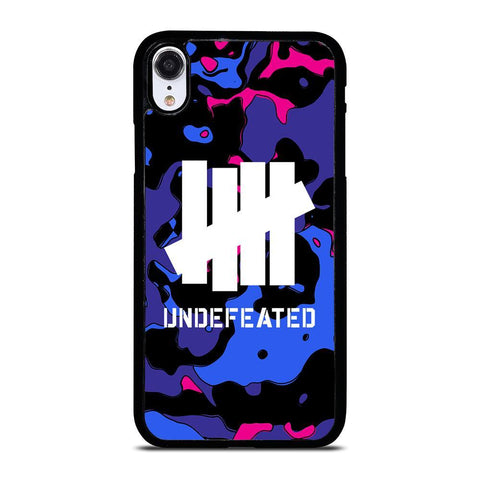 UNDEFEATED CAMO LOGO iPhone XR Case Cover