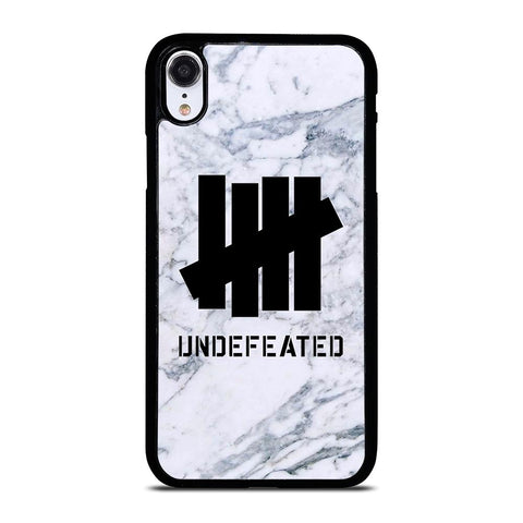 UNDEFEATED MARBLE LOGO iPhone XR Case Cover