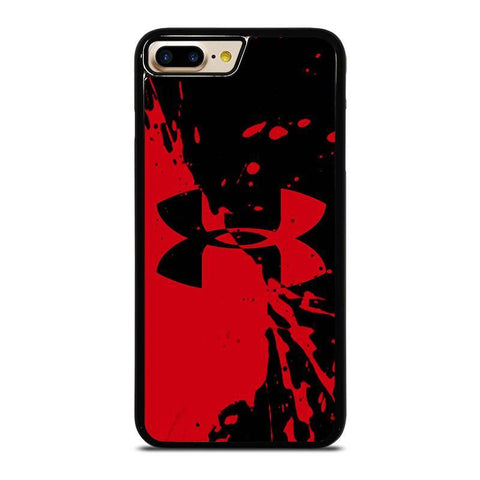 UNDER ARMOUR LOGO RED BLACK-iphone-7-plus-case-cover