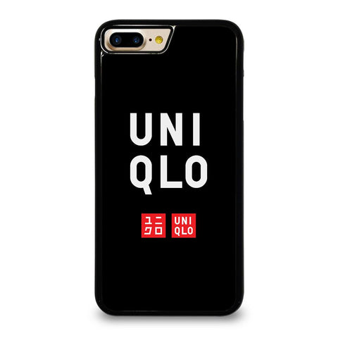 UNIQLO LOGO BLACK 2 iPhone 7 Plus Case Cover