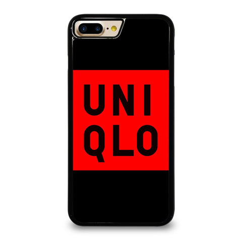 UNIQLO LOGO RED BLACK iPhone 7 Plus Case Cover