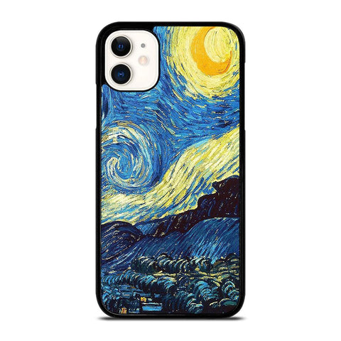VAN GOGH STARRY NIGHT-iphone-11-case-cover