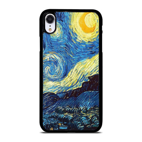 VAN GOGH STARRY NIGHT iPhone XR Case Cover