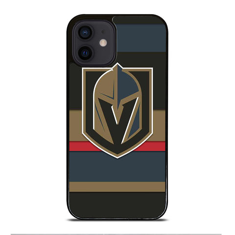 VEGAS GOLDEN KNIGHTS STRIPE iPhone 12 Mini Case Cover