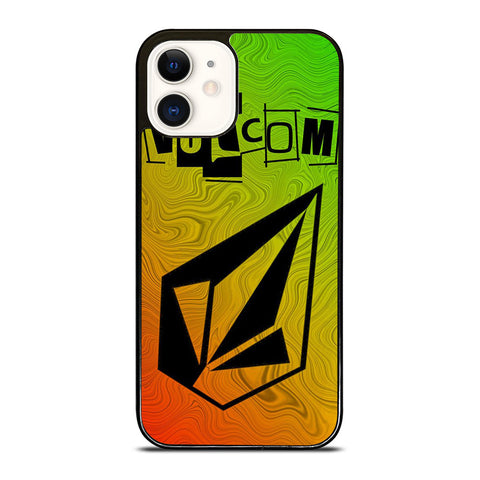 VOLCOM CLOTHING LOGO iPhone 12 Case Cover