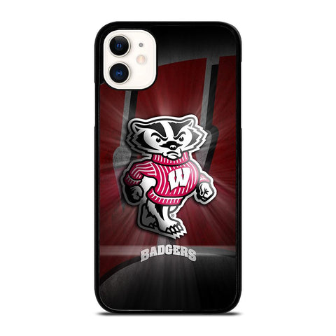 WISCONSIN BADGER LOGO-iphone-11-case-cover