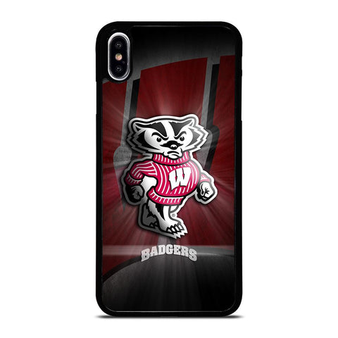 WISCONSIN BADGER LOGO iPhone XS Max Case Cover
