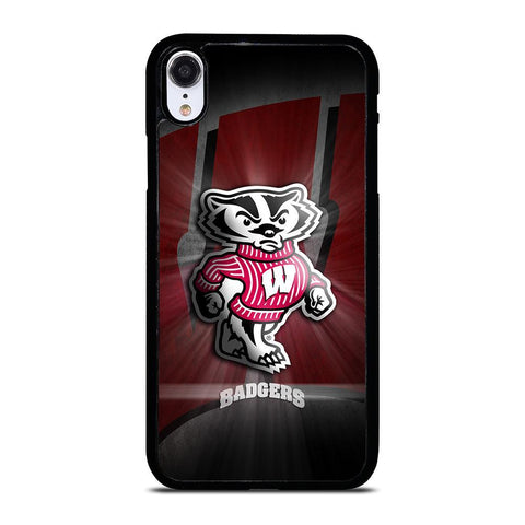 WISCONSIN BADGER LOGO iPhone XR Case Cover
