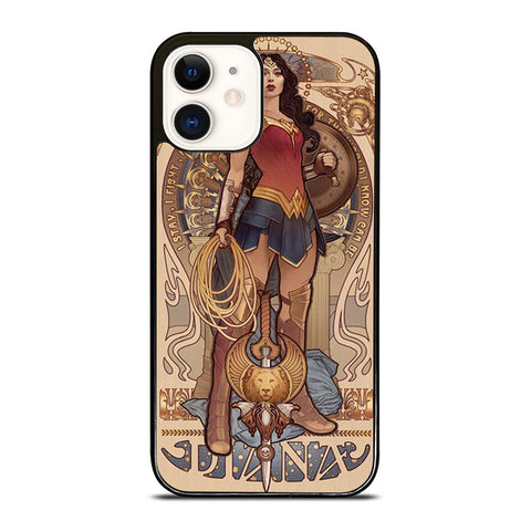 WONDER WOMAN DIANA ART iPhone 12 Case Cover