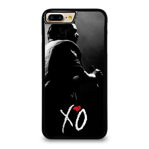 XO THE WEEKND LOGO BLACK WHITE iPhone 7 Plus Case Cover