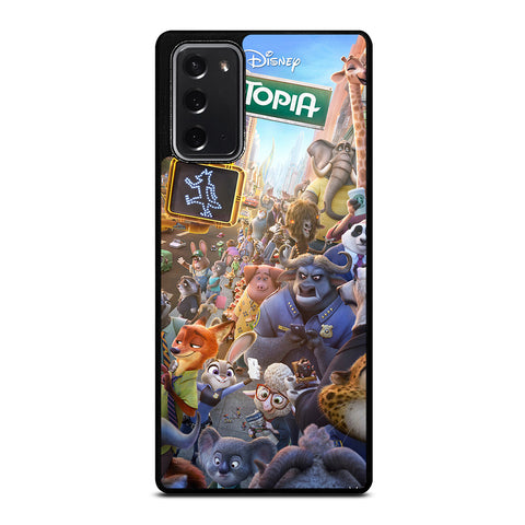 ZOOTOPIA CHARACTERS Disney Samsung Galaxy Note 20 Case Cover